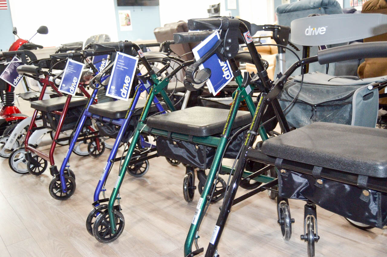 Canes, Knee Walkers, Rollators & power wheelchairs available at our stores in Mt Kisco NY and Southbury CT