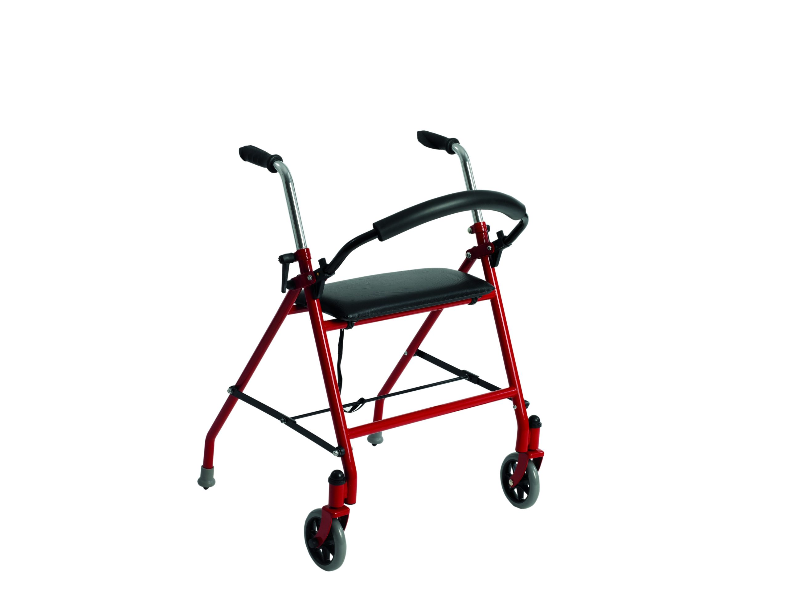 2 Wheeled Walker w/Seat, Blue - On The Mend Medical Supplies & Equipment