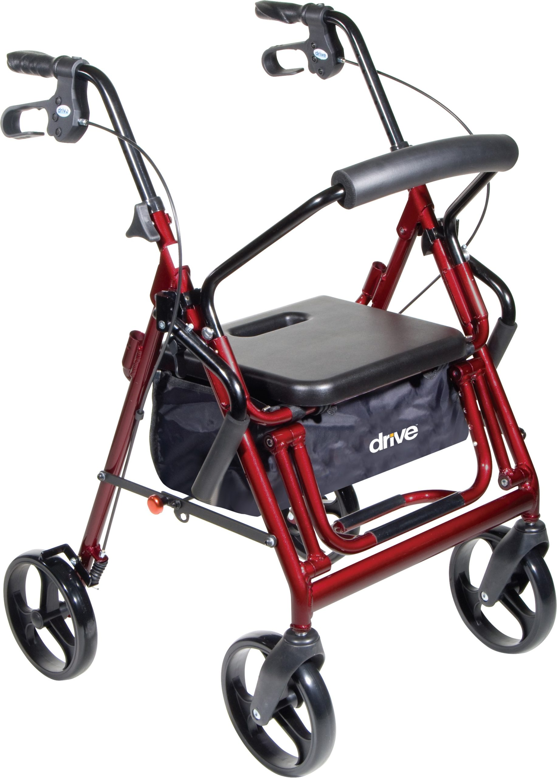 Duet Rollator/TransportChair,B - On The Mend Medical Supplies & Equipment
