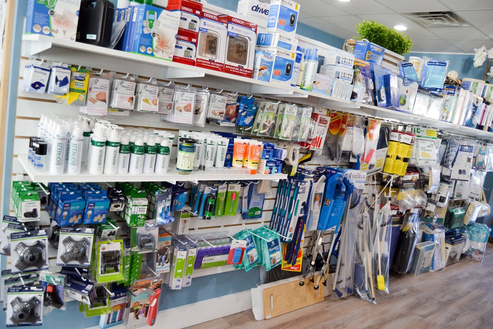 Incontinence Supplies available at our stores in Mt Kisco NY and Southbury CT