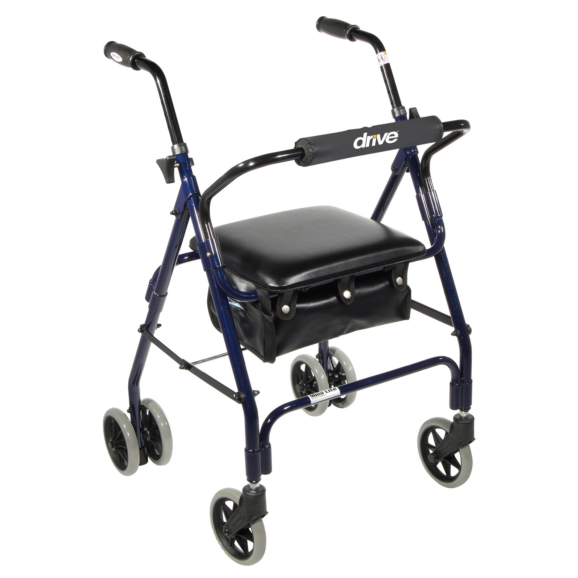Mimi Lite Push Brake Rollator Walker - On The Mend Medical Supplies & Equipment
