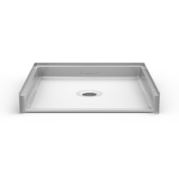 Barrier Free 36″ x 36″ Shower Pan | Beveled Threshold - On The Mend Medical Supplies & Equipment