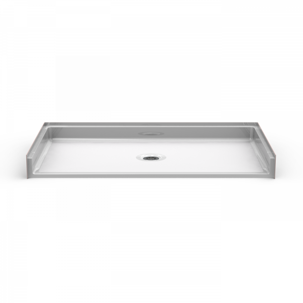 Barrier Free 60″ x 32″ Shower Pan | Beveled Threshold - On The Mend Medical Supplies & Equipment