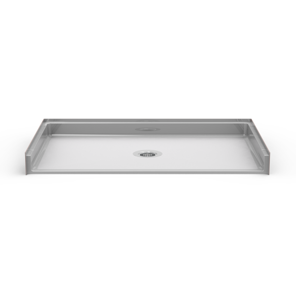 Barrier Free 60″ x 36″ Shower Pan | Beveled Threshold - On The Mend Medical Supplies & Equipment