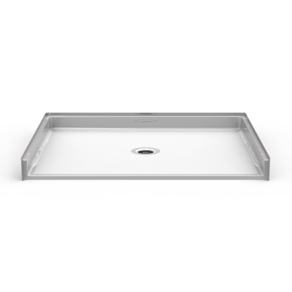 Barrier Free 60″ x 48″ Shower Pan | Beveled Threshold - On The Mend Medical Supplies & Equipment