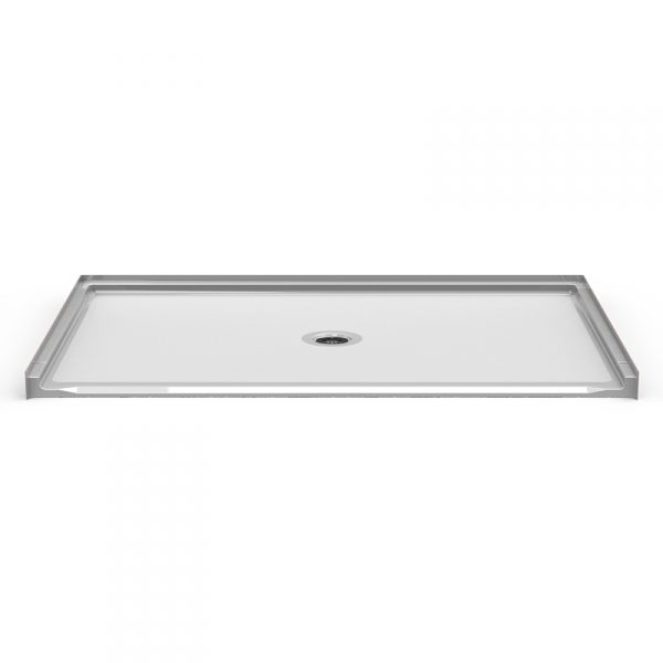 Barrier Free 72″ x 48″ Shower Pan | Beveled Threshold - On The Mend Medical Supplies & Equipment