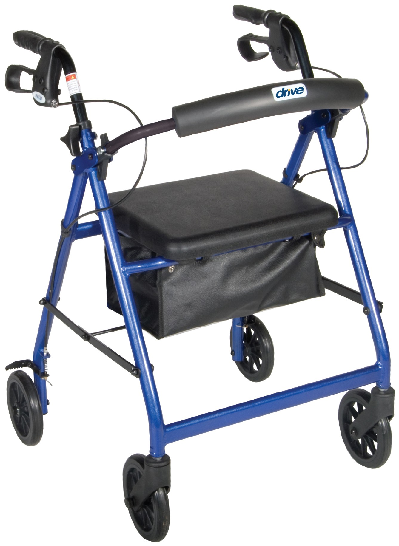"""Aluminum Rollator, 6"""" Casters - On The Mend Medical Supplies & Equipment"""