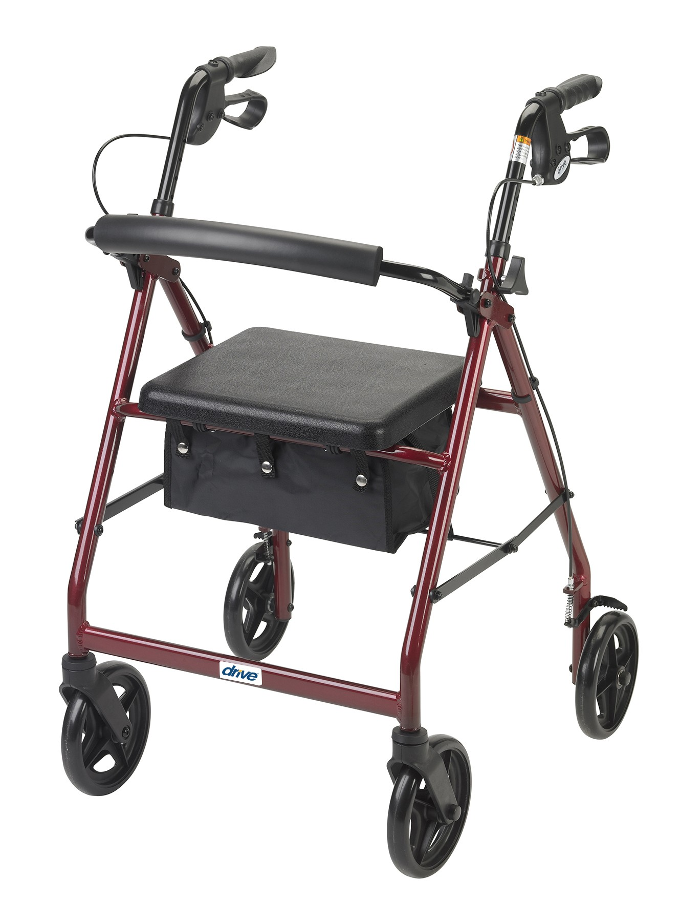 """Aluminum Rollator, 7.5"""" Casters - On The Mend Medical Supplies & Equipment"""
