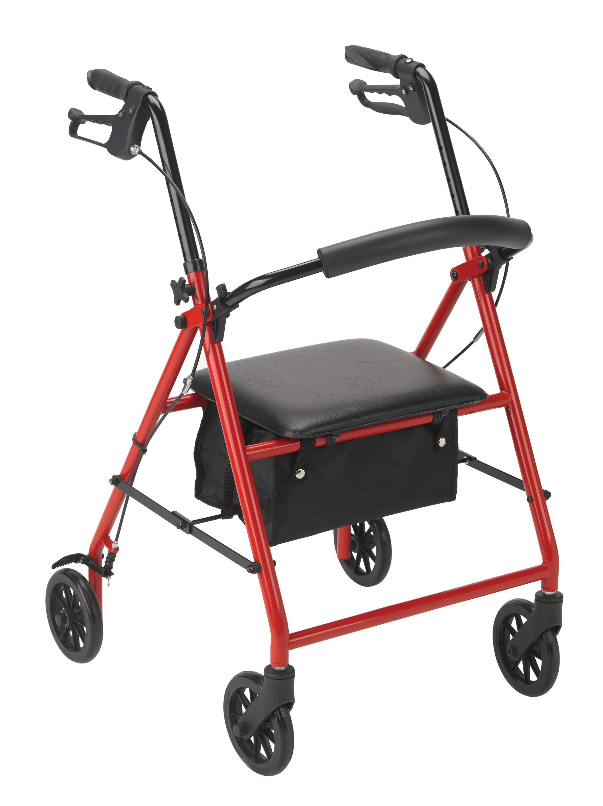 "Steel Rollator with 6"" Wheels - On The Mend Medical Supplies & Equipment"
