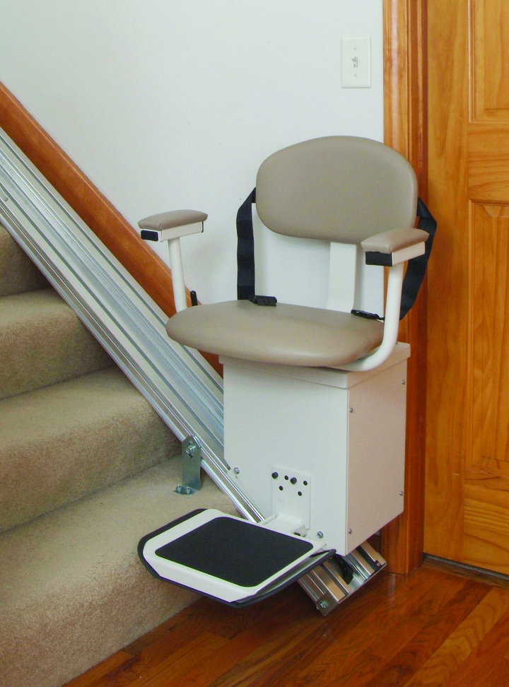 HARMAR SL350AC Indoor AC Straight Stair Lift - On The Mend Medical Supplies & Equipment