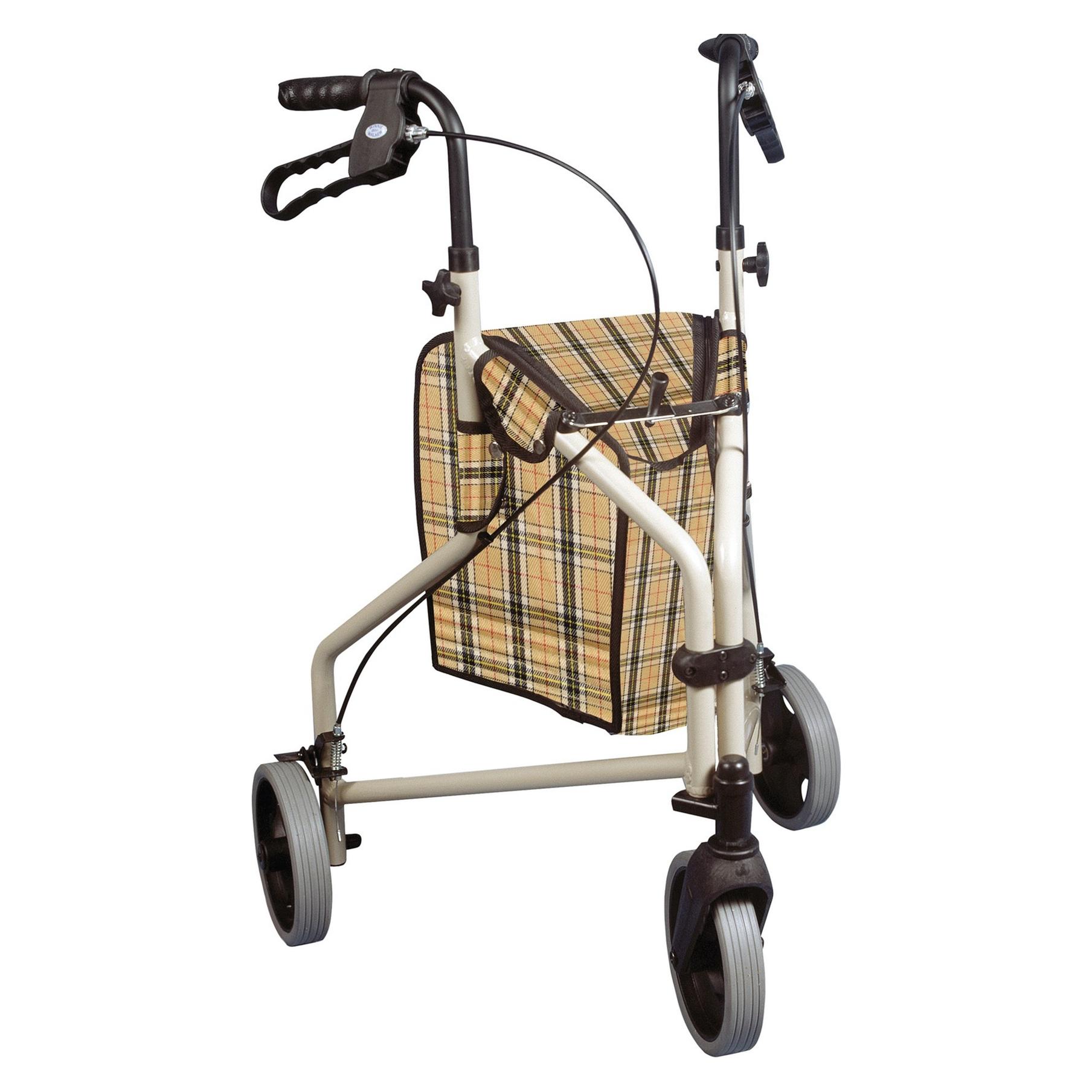 Winnie Lite Supreme/Go Lite 3 Wheel Aluminum Rollator - On The Mend Medical Supplies & Equipment