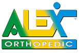 Alex Orthopedic products available at On The Mend in Mt Kisco NY and Southbury CT