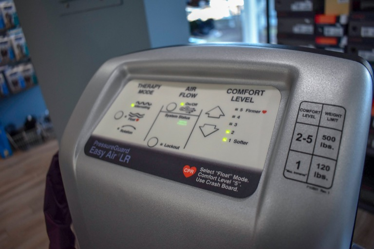 PressureGuard Easy Air LR. Alternating Pressure available at On The Mend in Southbury CT & Mount Kisco NY
